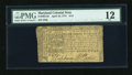 Colonial Notes:Maryland, Maryland April 10, 1774 $1/2 PMG Fine 12....