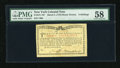 Colonial Notes:New York, New York March 5 , 1776 (Water Works) 8s PMG Choice About Unc 58....