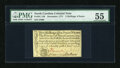 Colonial Notes:North Carolina, North Carolina December, 1771 2s/6d PMG About Uncirculated 55....