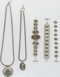 Sterling Silver Jewelry Lot, Lois Hill