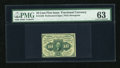 Fractional Currency:First Issue, Fr. 1240 10c First Issue PMG Choice Uncirculated 63....