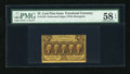 Fractional Currency:First Issue, Fr. 1279 25c First Issue PMG Choice About Unc 58 EPQ....