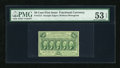 Fractional Currency:First Issue, Fr. 1313 50c First Issue PMG About Uncirculated 53 EPQ....