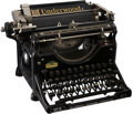 Movie/TV Memorabilia:Memorabilia, Mark Hellinger's Early Underwood Typewriter....