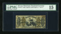 Fractional Currency:Third Issue, Fr. 1371 50c Third Issue Justice Inverted Back Plate Number PMG Choice Fine 15....