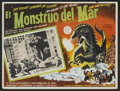"""Movie Posters:Science Fiction, The Beast From 20,000 Fathoms Lot (Warner Brothers, 1953).Autographed Mexican Lobby Cards (3), Mexican Lobby Cards (4)(13""""... (Total: 8 Items)"""