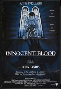 """Innocent Blood (Warner Brothers, 1992). Autographed French Petite (15.75"""" X 23.5""""). Comedy"""