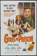 "Movie Posters:Bad Girl, Girls in Prison (American International, 1956). One Sheet (27"" X41""). Bad Girl...."
