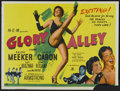 "Movie Posters:Drama, Glory Alley (MGM, 1952). British Quad (30"" X 40""). Drama...."