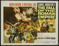 "Movie Posters:Historical Drama, The Fall of the Roman Empire (Paramount, 1964). Half Sheet (22"" X28""). Historical Drama...."