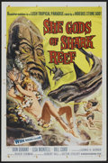 "Movie Posters:Adventure, She Gods of Shark Reef (American International, 1958). One Sheet(27"" X 41""). Adventure...."