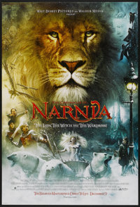"""The Chronicles of Narnia: The Lion, the Witch and the Wardrobe (Buena Vista, 2005). One Sheet (27"""" X 40"""") DS A..."""