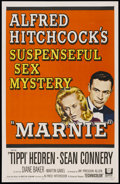 """Movie Posters:Hitchcock, Marnie (Universal, 1964). One Sheet (27"""" X 41""""). Hitchcock...."""