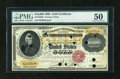 Large Size:Gold Certificates, Fr. 1225 $10000 1900 Gold Certificate PMG About Uncirculated 50....