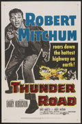 "Movie Posters:Crime, Thunder Road (United Artists, 1958). One Sheet (27"" X 41"").Crime...."
