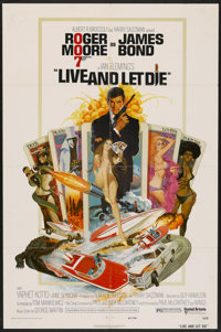 "Live and Let Die Lot (United Artists, 1973). One Sheet (27"" X 41"") and Still (8"" X 10""). James Bond..."