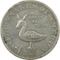 Political:Tokens & Medals, 1896 United Snakes of America Bryan Dollar,...
