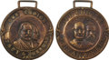 Political:Miscellaneous Political, Bryan & Kern and Taft & Sherman: Pair of Copper Watch Fobs,... (Total: 2 Items)