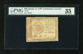 Colonial Notes:Continental Congress Issues, Continental Currency January 14, 1779 $60 PMG Choice Very Fine35....