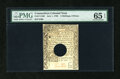 Colonial Notes:Connecticut, Connecticut July 1, 1780 2s/6d PMG Gem Uncirculated 65 EPQ....