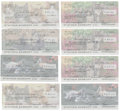 Autographs:Checks, Milt Pappas Signed Personal Checks Lot of 42....