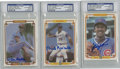 Autographs:Sports Cards, 1984 Donruss Champion HOF Pitchers Signed Cards Group Lot of 3....