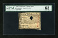 Colonial Notes:Massachusetts, Massachusetts May 5, 1780 $20 PMG Choice Uncirculated 63....