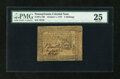 Colonial Notes:Pennsylvania, Pennsylvania October 1, 1773 5s PMG Very Fine 25....