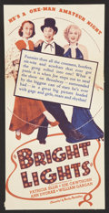 Movie Posters:Comedy, Bright Lights Lot (Warner Brothers, 1935). Heralds (2) (Various Sizes). Comedy.... (Total: 2 Items)
