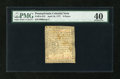 Colonial Notes:Pennsylvania, Pennsylvania April 10, 1777 9d PMG Extremely Fine 40....