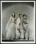 """Movie Posters:Fantasy, The Thief of Bagdad (United Artists, 1940). Stills (3) (8"""" X 10"""").Fantasy.... (Total: 3 Items)"""