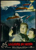"Movie Posters:Science Fiction, The War of the Worlds (Paramount, 1953). Italian Photobusta (18.5""X 26.5""). Science Fiction...."