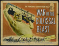 "Movie Posters:Science Fiction, War of the Colossal Beast (American International, 1958). HalfSheet (22"" X 28""). Science Fiction...."