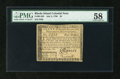 Colonial Notes:Rhode Island, Rhode Island July 2, 1780 $4 Fully Signed PMG Choice About Unc58....