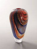 Art Glass:Other , Italian School (20th Century). An Art Glass Vase. 15-1/2 inches(39.4 cm) high. ...