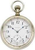 Timepieces:Pocket (post 1900), Waltham Twotone Model 92 Pocket Watch, circa 1908. ...