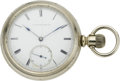 Timepieces:Pocket (pre 1900) , Lancaster West End Pocket Watch, circa 1884. ...