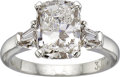 Estate Jewelry:Rings, Diamond, Platinum Ring, Graff. ...