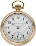 Timepieces:Pocket (pre 1900) , Hamilton Early Grade 940 Pocket Watch, circa 1898. ...