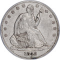 Seated Half Dollars, 1842-O 50C Small Date, Small Letters XF40 PCGS. CAC....