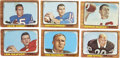 Football Cards:Sets, 1966 Topps Football Near Complete Set (125/132). ...