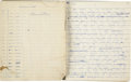 Books:Manuscripts, Arthur C. Clarke. Original Manuscript for Prelude to Space.[London: n.p., 1947].... (Total: 5 Items)