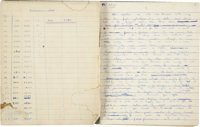Arthur C. Clarke. Original Manuscript for Prelude to Space. [London: n.p., 1947]