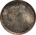 Barber Dimes: , 1898 10C MS65 NGC. NGC Census: (68/30). PCGS Population (58/28).Mintage: 16,320,735. Numismedia Wsl. Price for NGC/PCGS co...