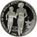 Modern Issues, 1995-P $1 Olympic/Paralympics Silver Dollar PR70 Deep Cameo NGC.PCGS Population (16/0). Numismedia Wsl...