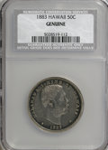 Coins of Hawaii, 1883 50C Hawaii Half Dollar--Genuine--NCS. Our grade XF details,improperly cleaned. PCGS Population (0/...