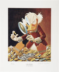 Memorabilia:Comic-Related, Carl Barks The Expert Miniature Lithograph Limited Edition Print #81/595 (Another Rainbow, 1997).... (Total: 2 Items)