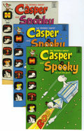Bronze Age (1970-1979):Cartoon Character, Casper and Spooky #1-7 File Copy Group (Harvey, 1972-73) Condition:Average VF/NM.... (Total: 7 Comic Books)