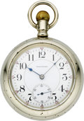 Timepieces:Pocket (post 1900), Waltham 21 Jewel Crescent St. Pocket Watch, circa 1904. ...