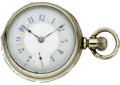 Timepieces:Pocket (pre 1900) , Illinois Transitional with Fancy Dial, circa 1886. ...